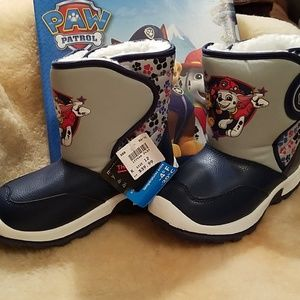 NWT Paw Patrol winter boot